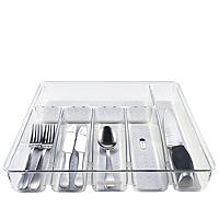 Clear Cutlery Drawer Organiser