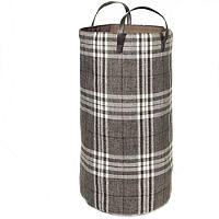 Standing Laundry Tote Classic Check