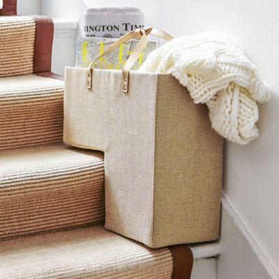 Lakeland Stair Tidy Basket Box With Handles