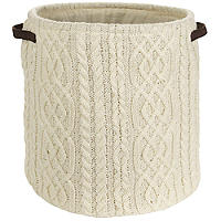 Cable Knitted Tote