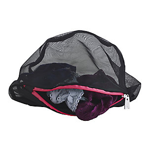 Set Of 3 Delicates Washing Bags Black