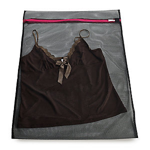 2 Large Wash Bags Black