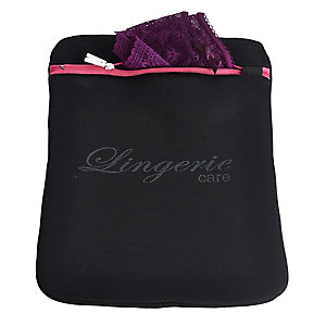 Extra-Care Lingerie Wash Bag Black