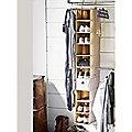ClosetMax 10 Shelf Shoe Organiser