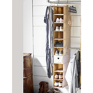 ClosetMax 10 Shelf Shoe Organiser