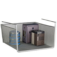 Mesh Under-Shelf Basket