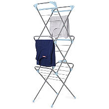 Slimline Easy Up Concertina Indoor Clothes Airer 10m