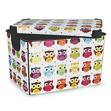 Bright Owl Storage Tote