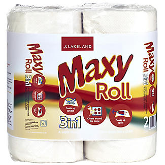 Maxy Paper Towel Kitchen Roll - Twin Pack