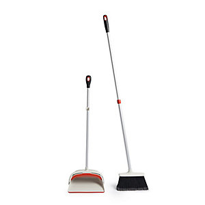 OXO Good Grips® Telescopic Upright Dustpan & Brush Sweep Set