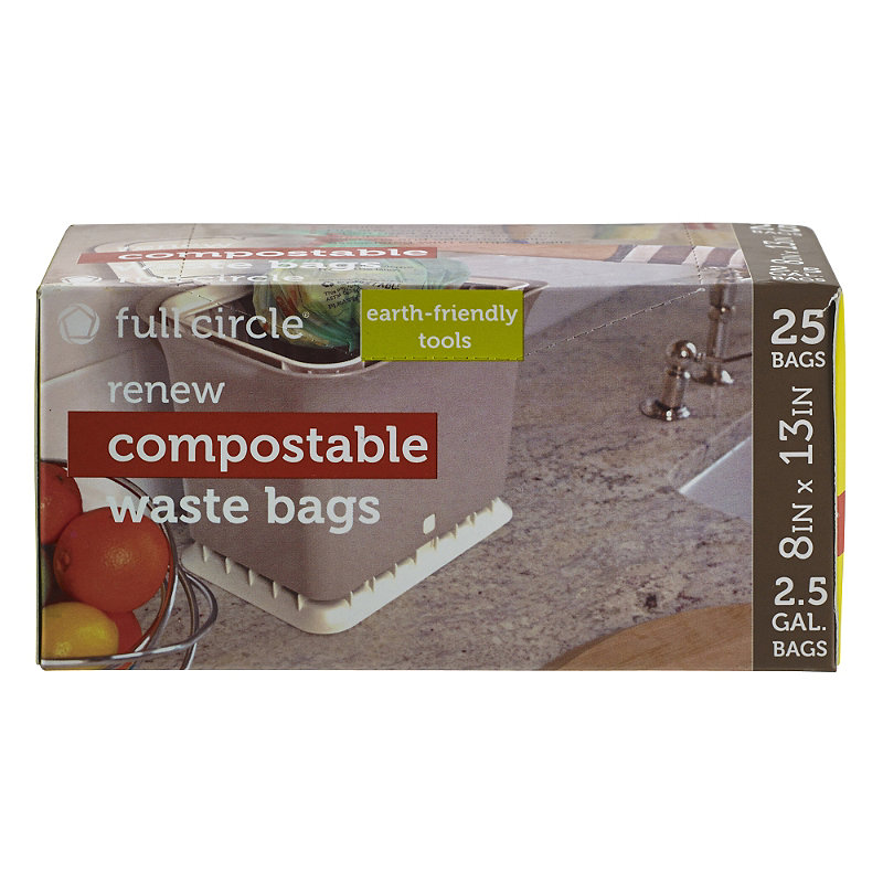 25 Full Circle Fresh Air Compostable Waste Bags