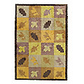 Dee Hardwicke Leaves & Squares Turtle Mat