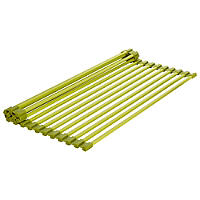 Green Rollmat-Sink Drying Rack