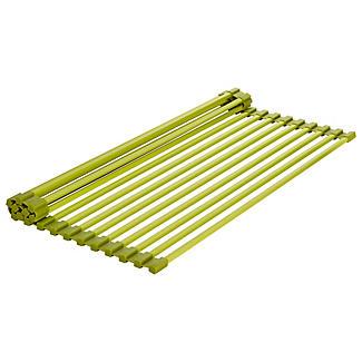 Rollbares Abtropfgitter fürs Spülbecken, grün