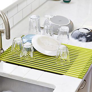 Green Rollmat-Sink Drying Rack alt image 2