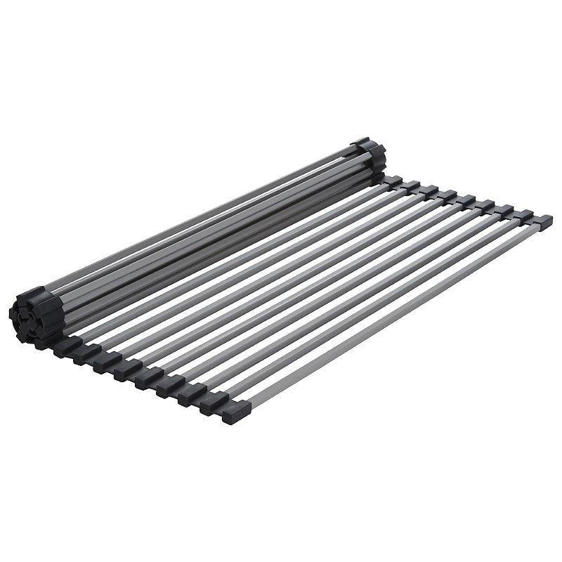 Grey Rollmat-Sink Drying Rack