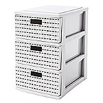 Lattice-Effect Mini Drawer Store