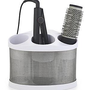 Style Station PRO Hairdryer & Straighteners Storage Holder - White