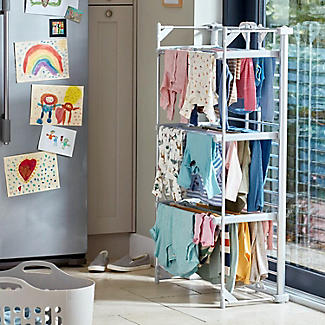 Dry:Soon Deluxe 3-Tier Heated Airer alt image 3