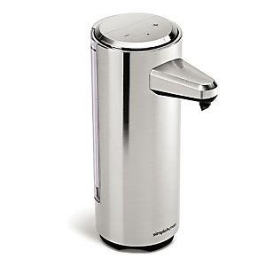 simplehuman® Rechargeable Sensor Pump Soap Dispenser