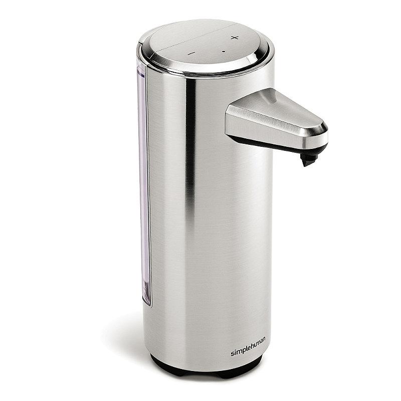 simplehuman® Rechargeable Sensor Pump Soap Dispenser