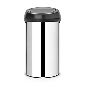 Brabantia® Brilliant Steel Touch Bin 60L.