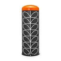 Brabantia® Charcoal Orla Kiely Retro Bin 20L.