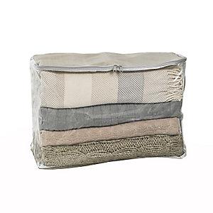 Transparente Aufbewahrungstasche für Decken & Kleidung - 52 L