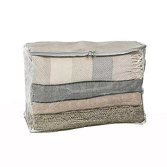 Clearview Protective Clothes & Duvet Zip Storage Bag - 52L alt image 1