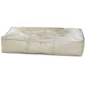 Dust Proof Protective Clothes & Duvet Zip Storage Bag - 89L Underbed