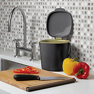 OXO Good Grips Food Compost Bin - Grey 2.8L alt image 2