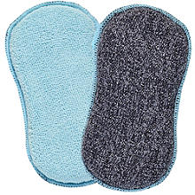 2 Everyday Cleaning Sponges & Scourers