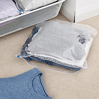 10 Store & Protect Zip Seal Clothes Storage Bags alt image 2