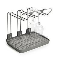 Wine Glass Drying Drainer Rack - Holds 6