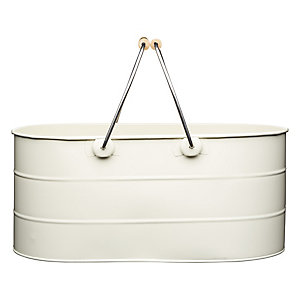 Living Nostalgia Antique Cream Trug