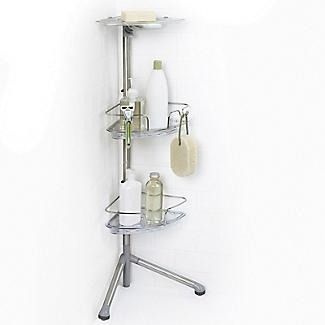 OXO Good Grips Slide and Lock Standing Shower Caddy alt image 4