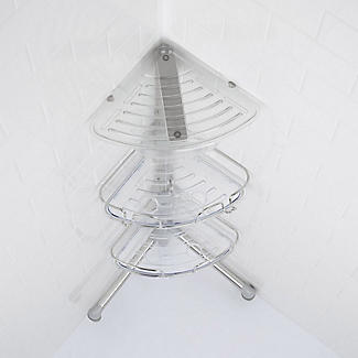 OXO Good Grips Slide and Lock Standing Shower Caddy alt image 7