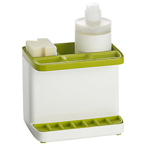 ILO Standard Sink Tidy White/Green