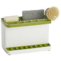 ILO Large Sink Tidy White/Green