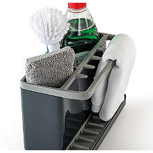 ILO Large Sink Tidy Grey/Grey