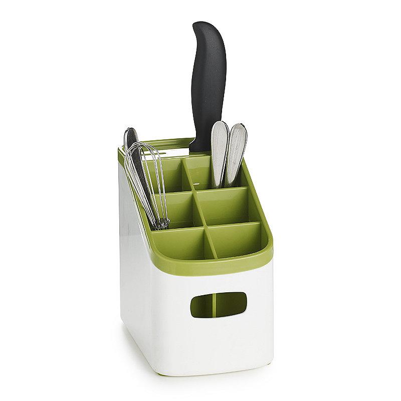 ILO Sink Cutlery Holder & Drainer - White
