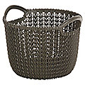 Small Knit-Effect Basket Chocolate