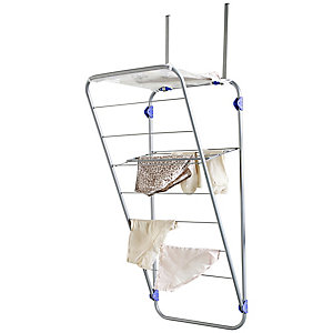 Over Door Foldable Indoor Clothes Airer 4m