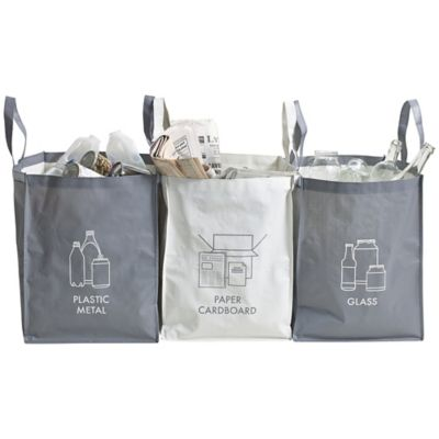 Household Waste Recycling Bags 44l X 3