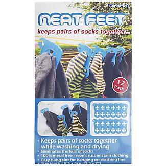12 Neat Feet Laundry Sock Clips alt image 3
