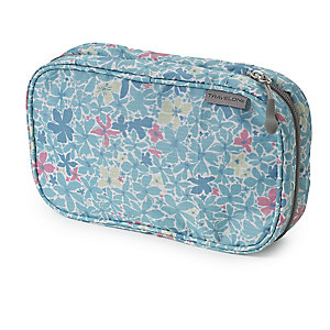 Summer Floral Hanging Toiletry Bag