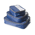 3 Diamond Sparkle Packing Cubes
