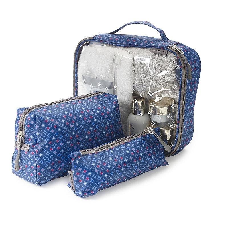 3 Diamond Sparkle Toiletry Bags
