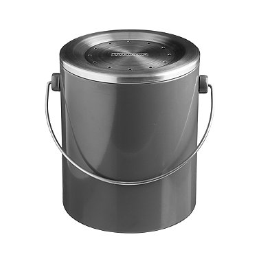 Typhoon® Hudson Caddy Food Compost Bin - Grey 3L