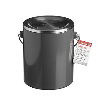 Typhoon® Hudson Caddy Food Compost Bin - Grey 3L alt image 2
